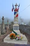 Monument après restauration par M.Maxime Godard - cantonnier du village